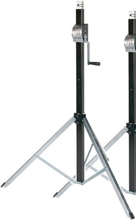 Pied de levage Goliath Basic 3800, max. 80kg, hauteur 3.8m , diam. 35mm