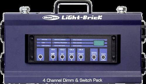 Dimmer et switch pack Showtec Light-Brick 4x 2.3Kw