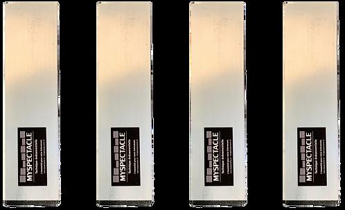 Pied pour praticable 20cm alu 50x50mm (kit de 4pcs)