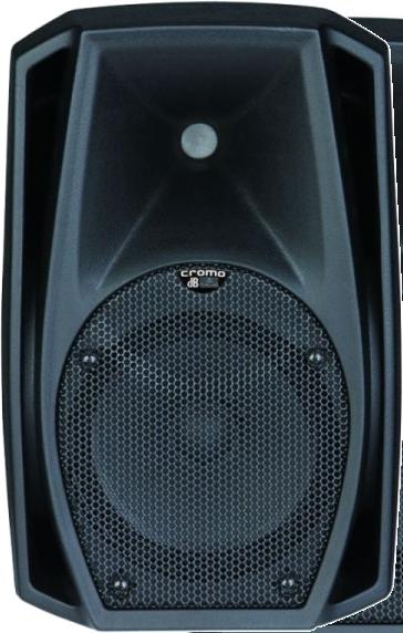 """dB Technologies Cromo 8+, haut-parleur actif bi-amplifié, 12""""+1"""", 400W RMS"""