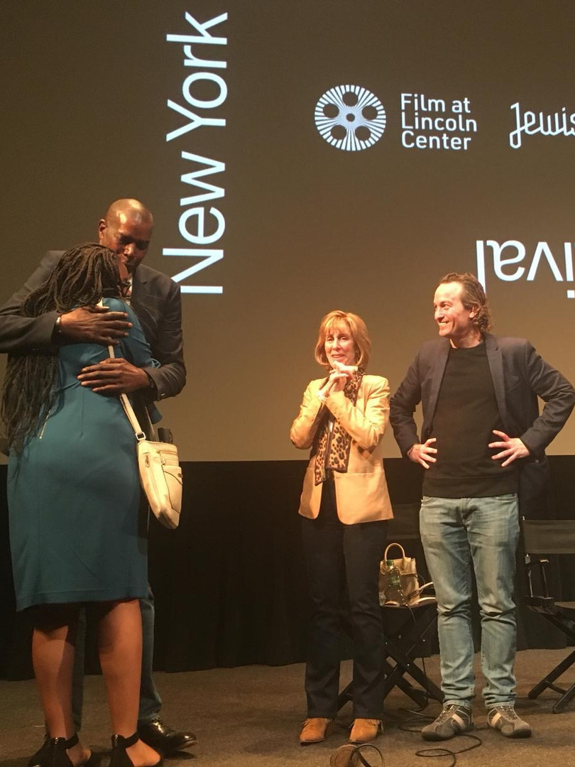 Aulcie at the NYJFF