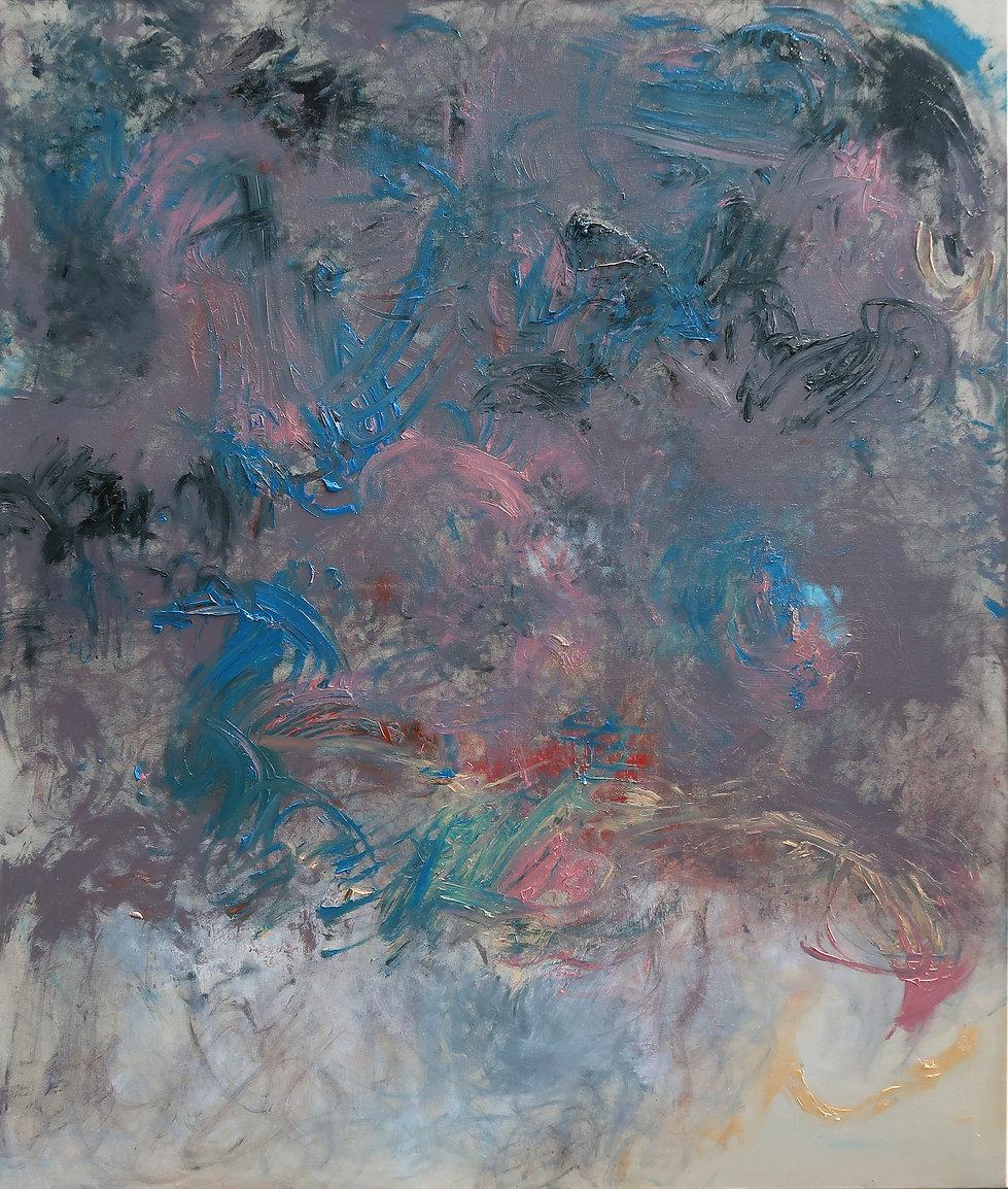 Midnight Crush, oil on canvas, 170 x 140 cm