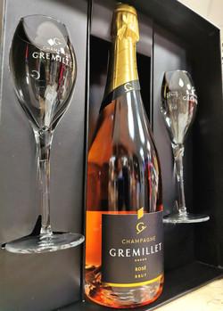 Coffret Champagne Gremillet 75 cl - à pa