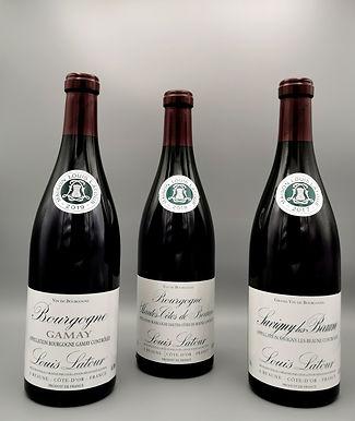 Vins rouges de Bourgogne Louis Latour 75 cl