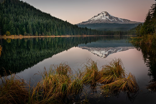 Order #SM009 Mt. Hood from Trillium Lake, Oregon