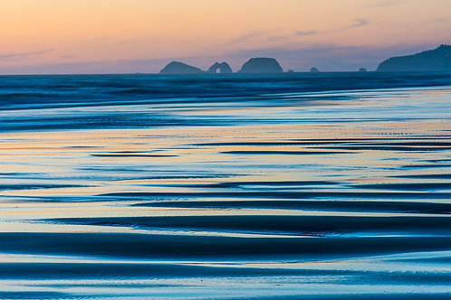 Oregon Coast 08  Three Arches from Cape Perpetua