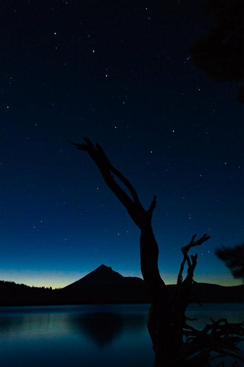 Order #OR012 Mt. Mcgloughlin, Oregon with Big Dipper