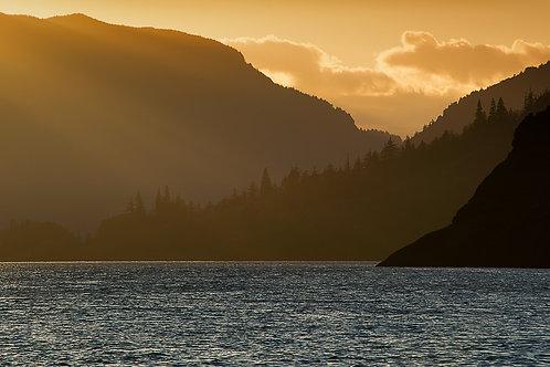 Order #SW0014 The Gorge at Sunset, Oregon