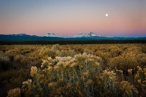 Order #SM0016 Three Sisters, Oregon at Sunrise