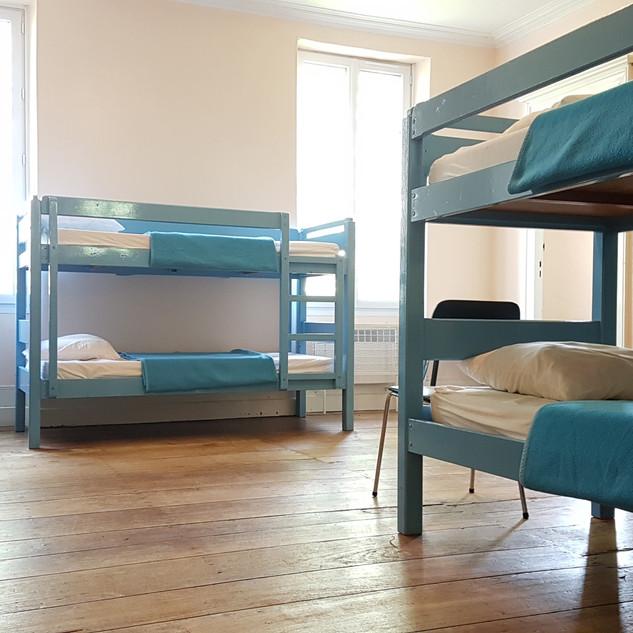 Chambre dortoir commune