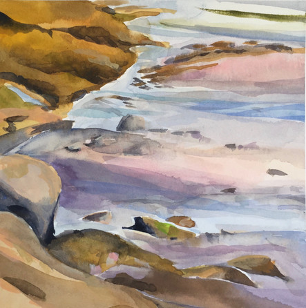 Incoming Tide, Birch Point