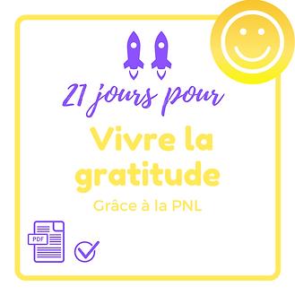 21 jours pour vivre la gratitude