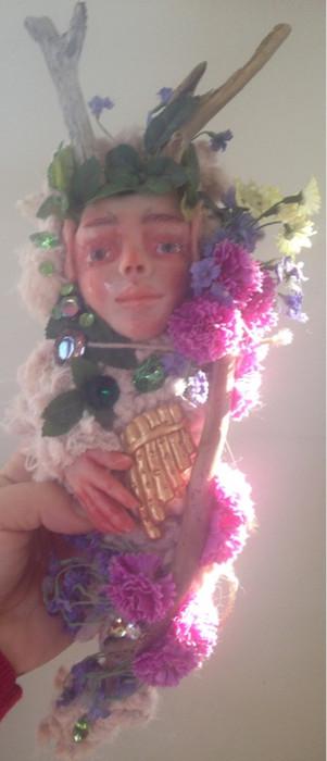 God Pan Art Doll