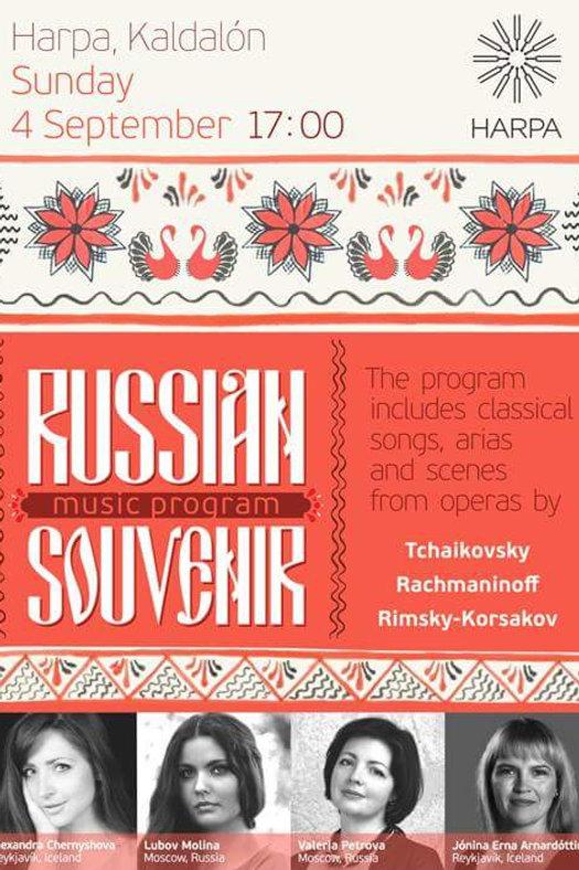 Russian Souvenir Music Program at HARPA