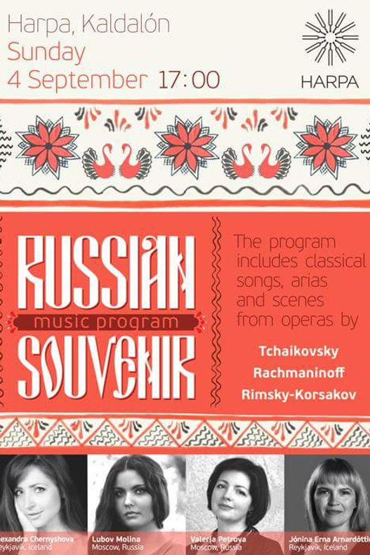 Russian Souvenir Music Program at HARPA
