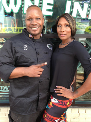 Celebrity Chef Donnell Long & Tawanda Br