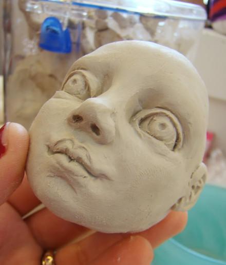Porcelain head