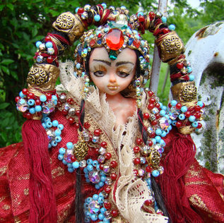 Mongolian Princess * Ball Jointed Doll