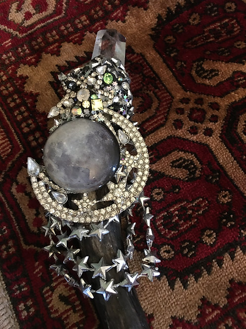 Salem Moon Witch Wand Magical Wood from Salem Moon Spell Super Power Sorcery