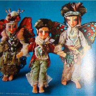 Art Dolls published on Art Doll Quarterly August/September/October 2010