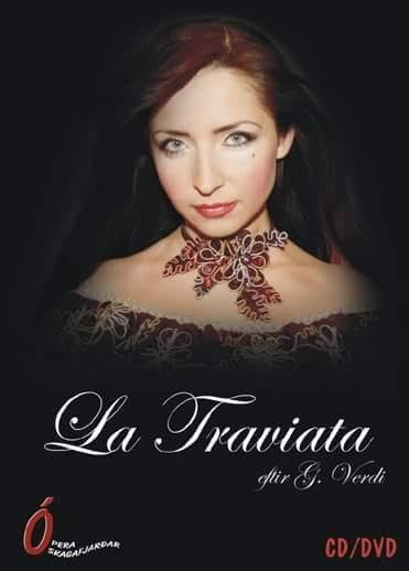 """CD/DVD """"La Traviata"""" / A. Chernyshova / Dir.: G. Verdi"""