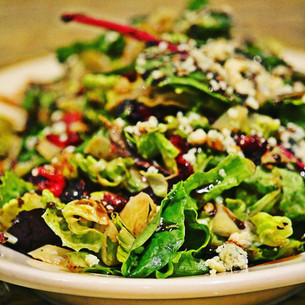 OTI Fresh Pecan, Pear, Blue Cheese Salad