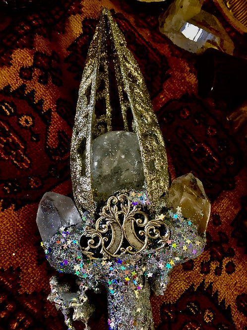 Temple of Stars Wand Magical Real Witch