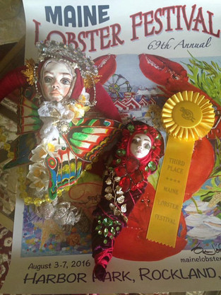 3rd Place Prize on 2017 Professional Art Competition atMaine Lobster Festival