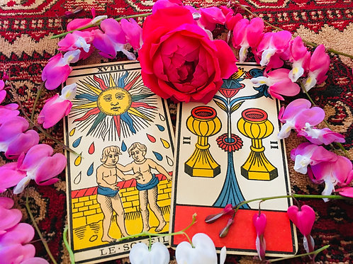 1 Question Tarot Reading Best in this World! Old style Fortune Telling