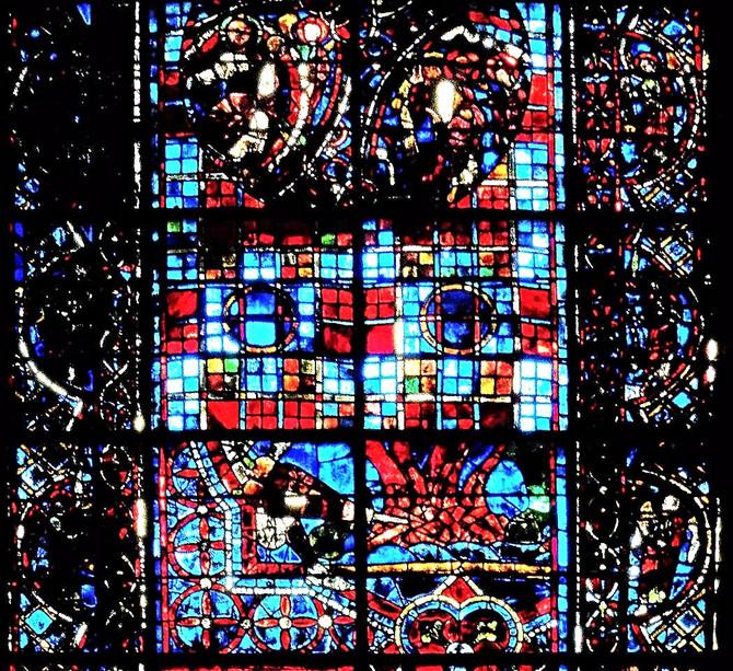 Фруктовый салат шартрского собора
