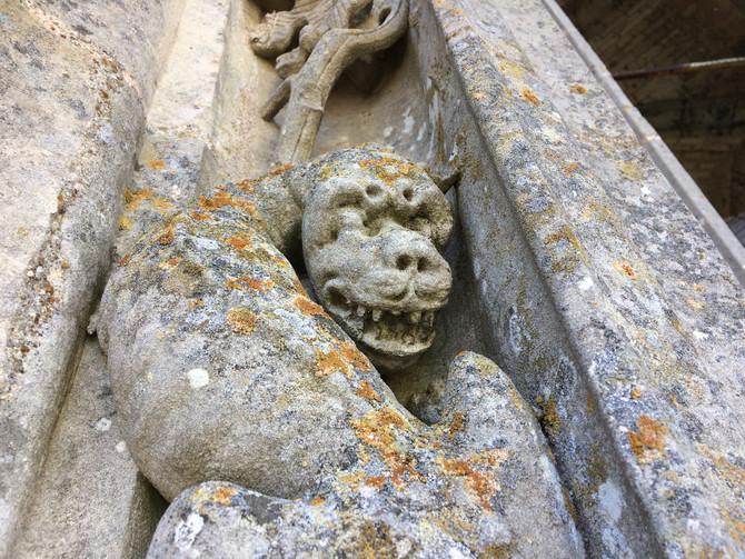 Бесы шартрского собора: страсти на высоте Северной башни