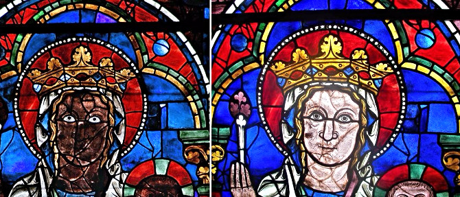 О реставрации шартрского собора