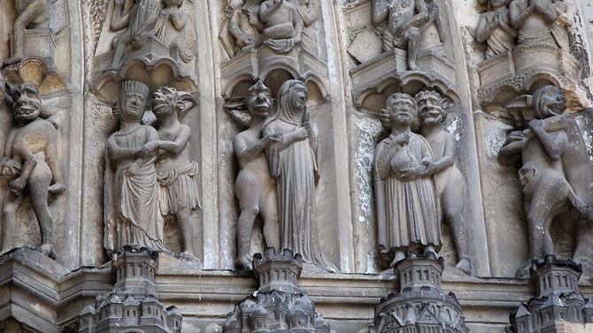 Бесы шартрского собора-2: южный портал