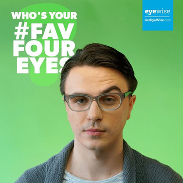 From a digital campaign for the Canadian Association of Optometrists. Part of the #fabfoureyes social media campaign. Check the commerical we shot here:
