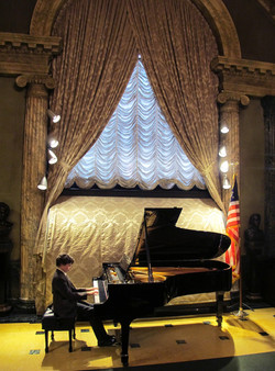 Performing at Steinway Hall