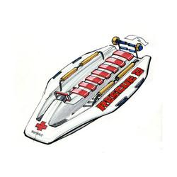 WATER JET Rescue model