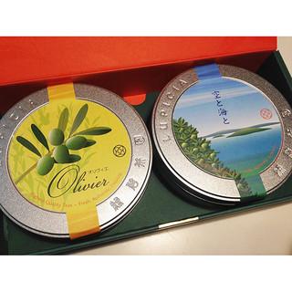 缶ラベル・香川限定茶