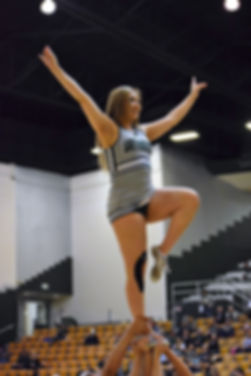 ENMU cheerleader