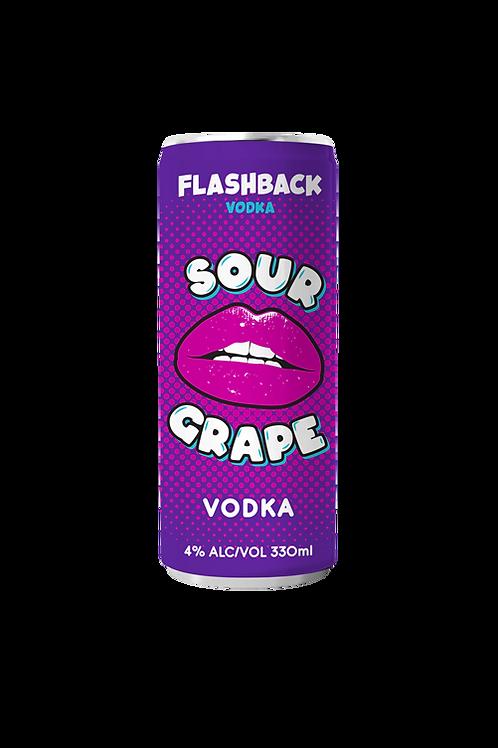 FLASHBACK Sour Grape Vodka 4 pack