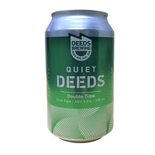 Deeds Double Time Hazy pale 6 pack