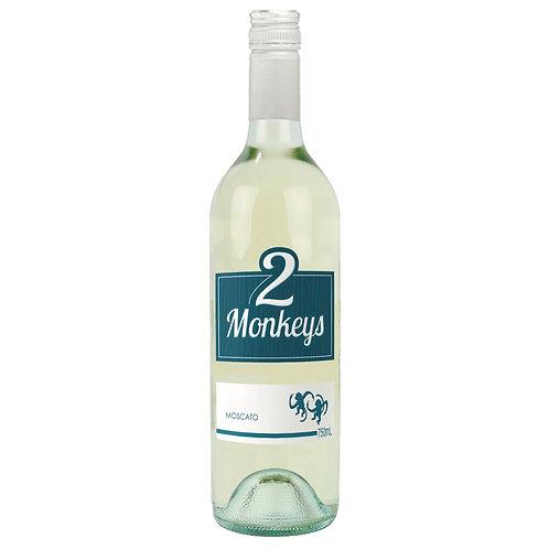 2 Monkeys White Moscato