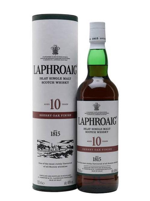 Laphroaig Single Malt Sherry Oak Finish 10yr old