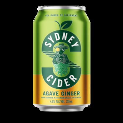 Sydney Brewery Agave Ginger Cider 4 pack