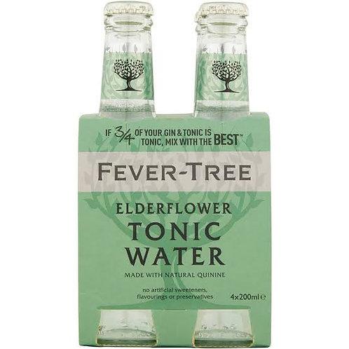 Fever-Tree Elderflower Tonic Water 4 pack