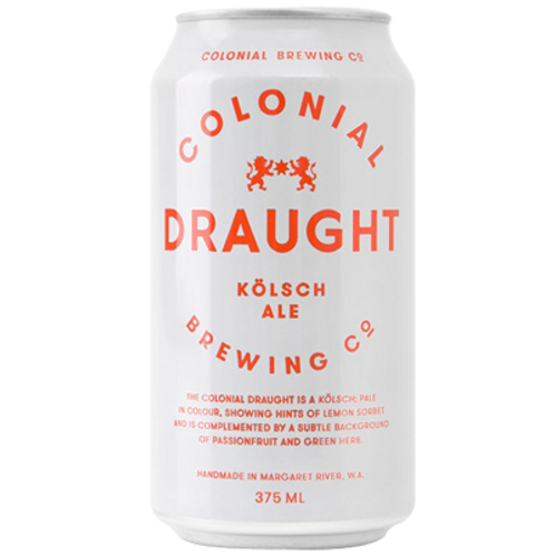 Colonial Draught -Kolsch Ale 6 pack