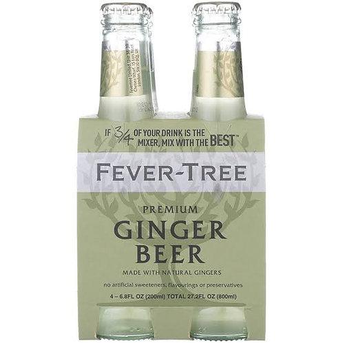 Fever-Tree Ginger Beer 4 pack