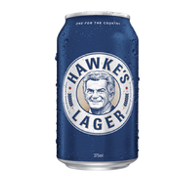 Hawke's Brewing Co. Lager 6 pack