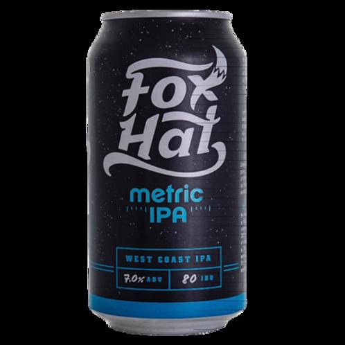 Fox Hat Metric IPA 4 pack