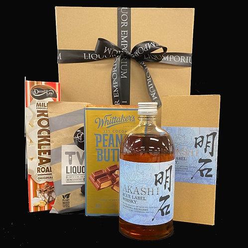 Akashi Blue Label Whisky Hamper