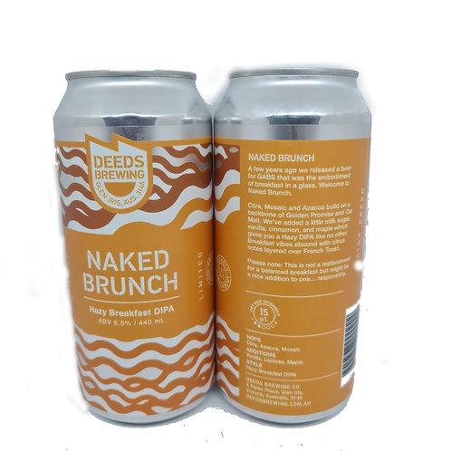 Deeds Naked Brunch Hazy Breakfast DIPA 4 pack